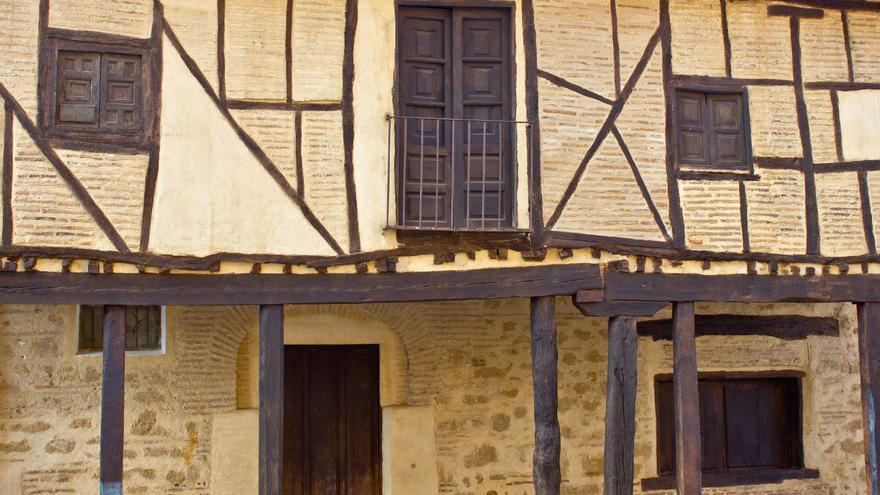 Casas tradicionales en la Provincia de León. VA