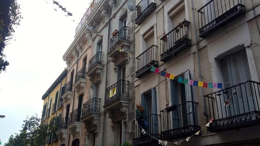 """Calle Molino de Viento, """"Happy birthday""""   SOMOS MALASAÑA"""