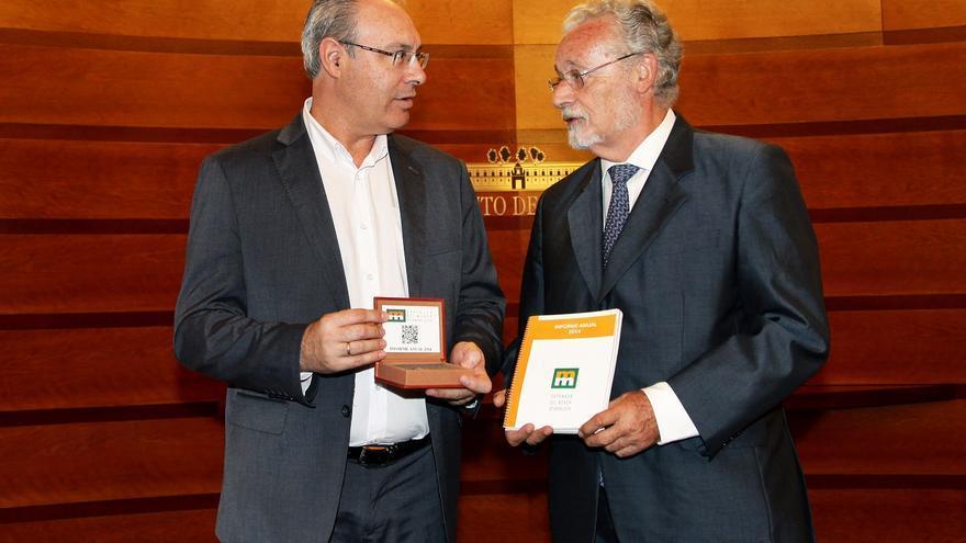Juan Pablo Durán y Jesús Maeztu / Parlamento de Andalucía
