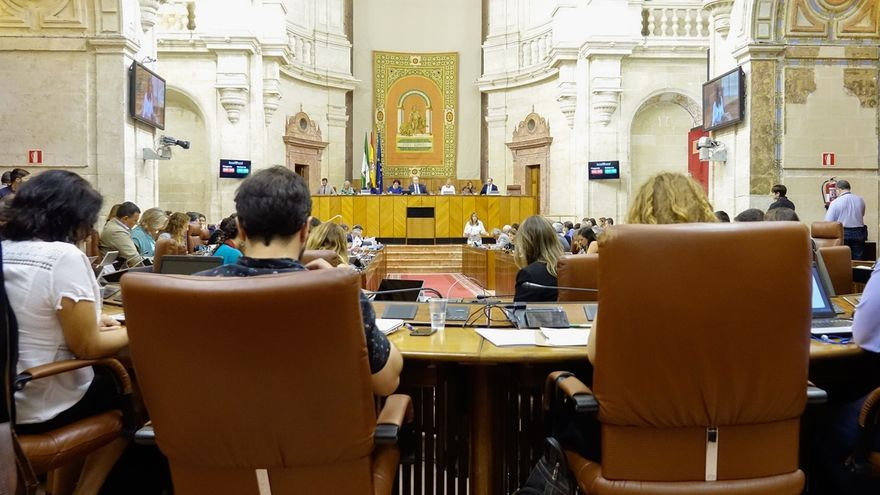 El presupuesto andaluz de 2018 supera el debate de totalidad tras rechazarse las enmiendas del PP-A, Podemos e IULV-CA