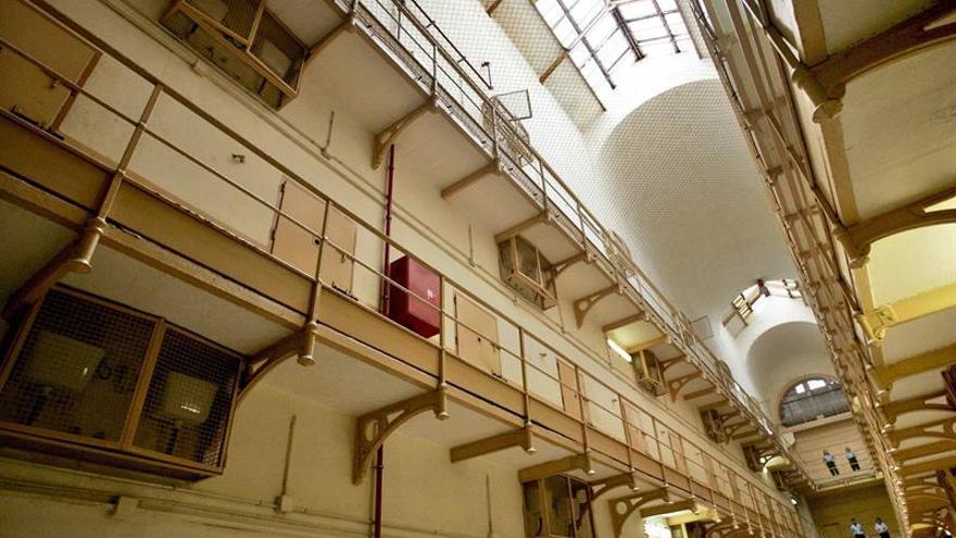Interior de la cárcel Modelo de Barcelona.