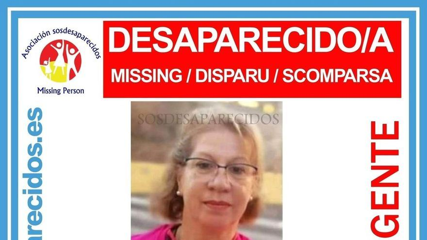 Soledad Santana, desaparecida en Gran Canaria