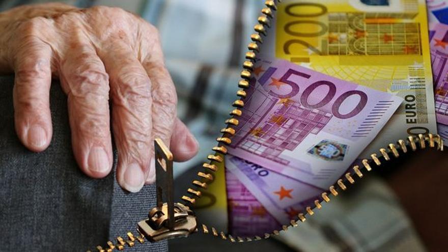 Los murcianos reciben la tercera pensión más baja de España