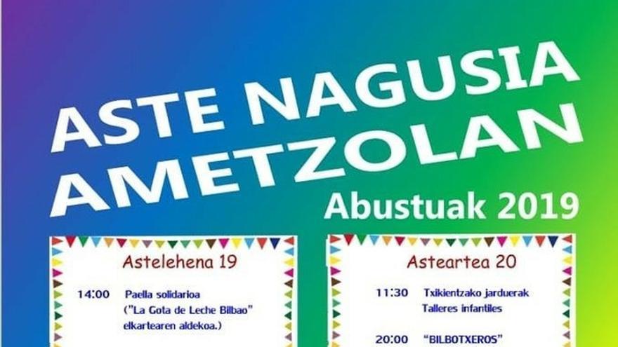 """Bilbao acogerá este lunes una """"paella astenagusiera solidaria"""" en favor de La Gota de Leche"""