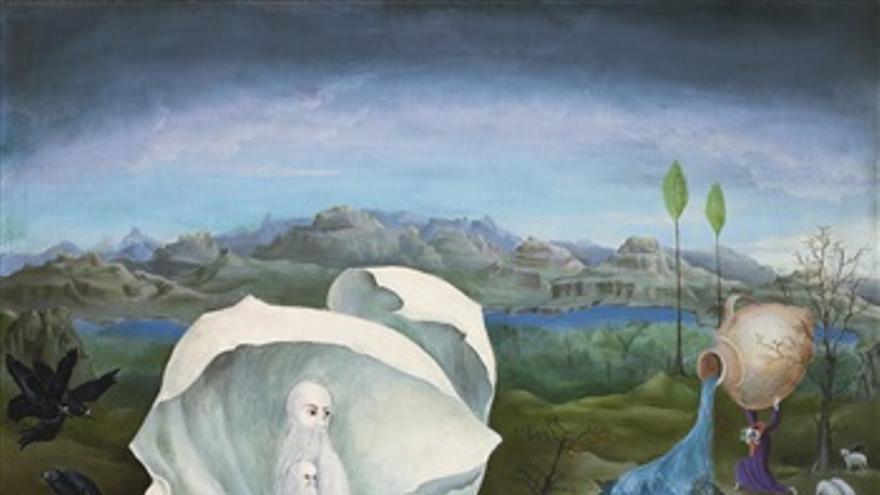 Las obras de Carrington alcanzaron difusión durante todo el siglo XX. En México y en Inglaterra su figura sigue siendo reconocida. En la imagen, 'The temptations of St Anthony', por el que un comprador pagó 2.600.000 euros en una subasta de la casa Sothebys.