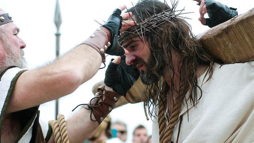 Castro Urdiales (Cantabria) volvió a revivir la Pasión de Cristo