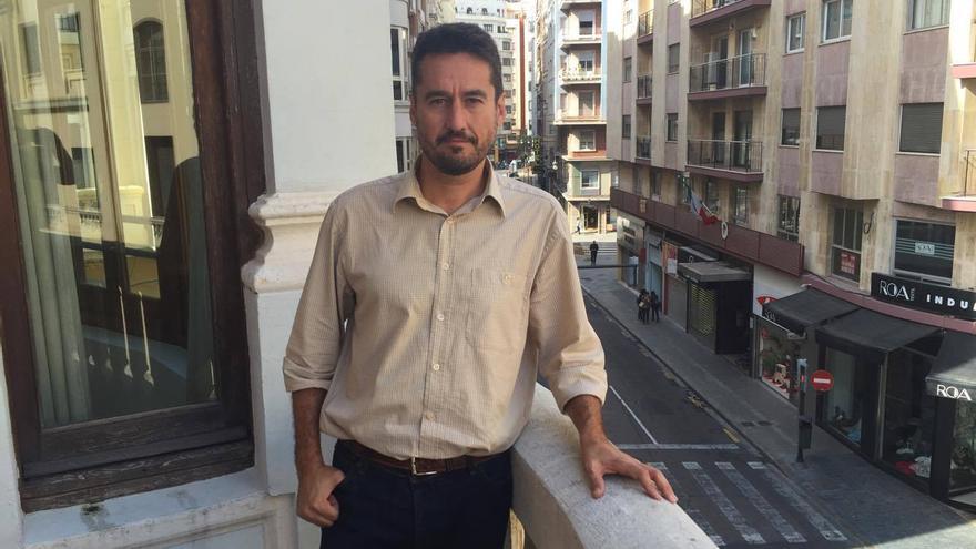 El regidor de Participació a l'ajuntament de València, Jordi Peris