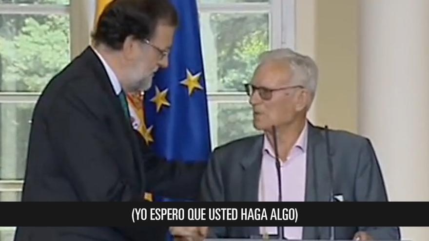"""Joaquín Navarro pide a Rajoy que """"haga algo por los trabajadores"""""""