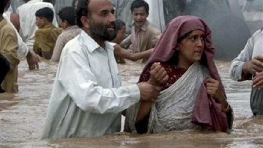 Inundaciones en Pakistán