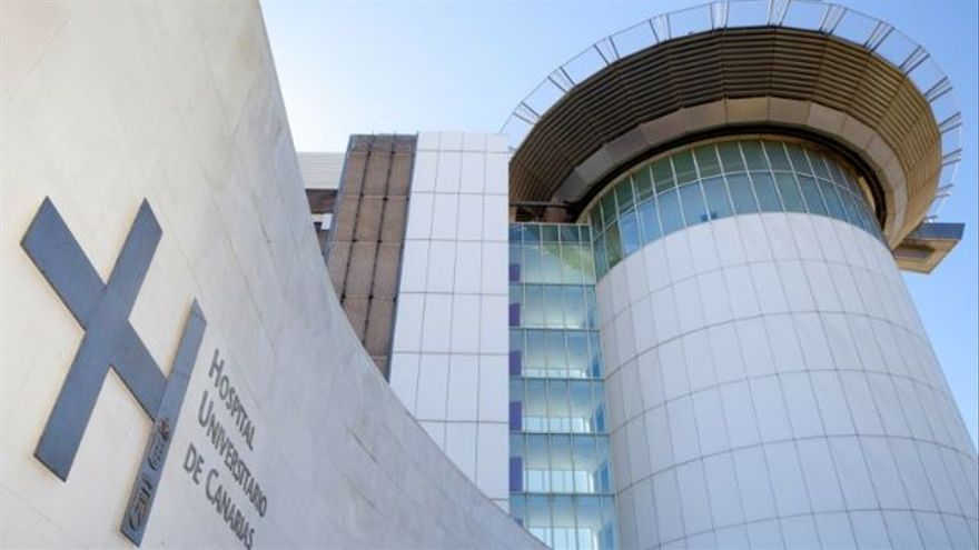 Edificio del Hospital Universitario de Canarias, en La Laguna