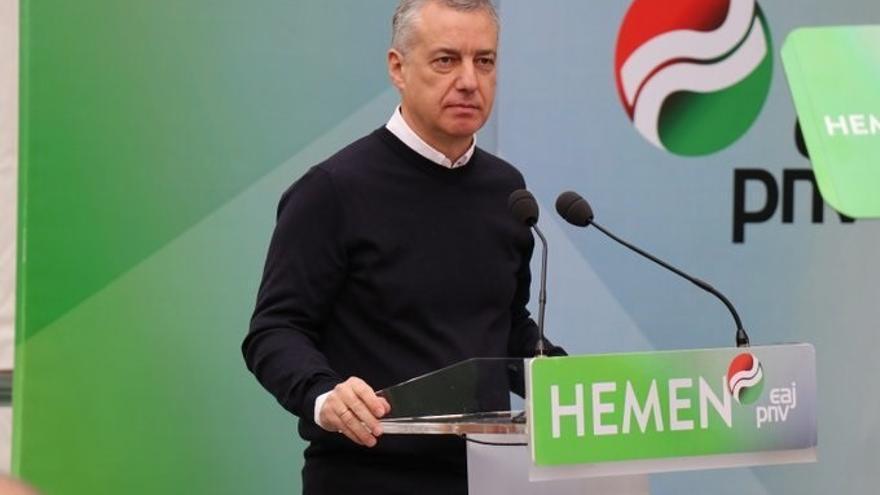"""Urkullu alerta de la """"grave amenaza"""" de la """"involución y la división"""" en Gipuzkoa y apela al voto joven"""