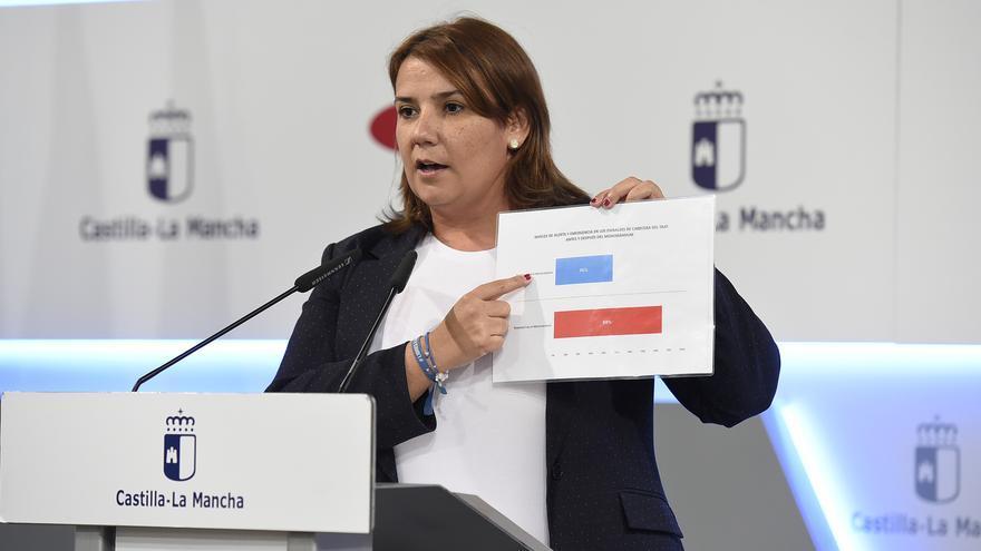 Tita García Élez, consejera de Fomento de Castilla-la Mancha