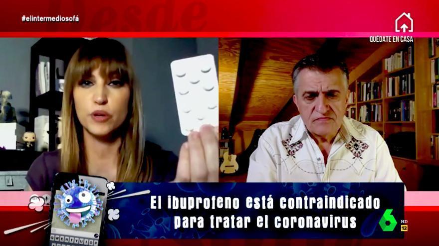 """""""El coronabulos"""", la nueva sección de El Intermedio que desmiente los mensajes falsos sobre la pandemia"""