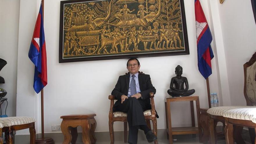 """Líder opositor denuncia una """"caza de brujas"""" del Gobierno en Camboya"""