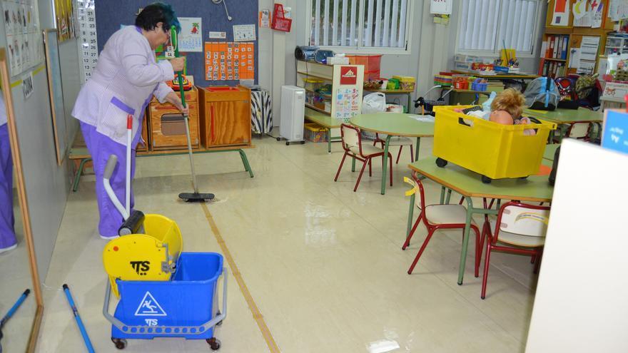 La lluvia a afectado a diversos centros educativos a lo largo de la Comunitat Valenciana
