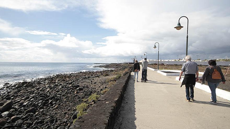 Zona en la que se ubicará el nuevo hotel en Costa Teguise.