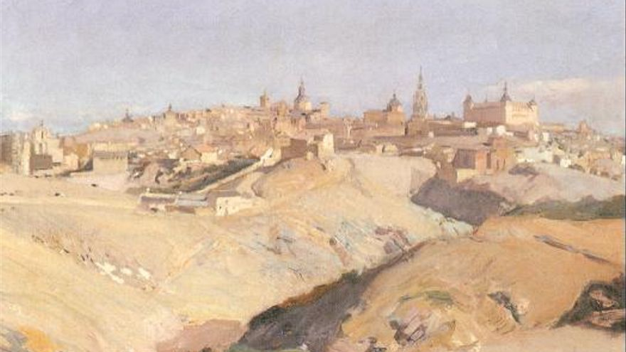 Vista Covachuelas Toledo Sorolla