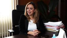 La presidenta del Cabildo de Lanzarote, Dolores Corujo