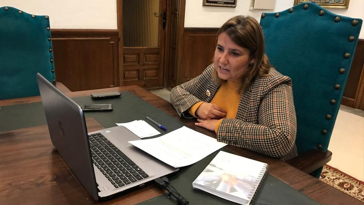 La alcaldesa de Talavera, Tita García Élez