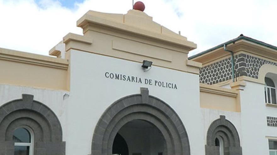 Fachada del CIE de Barranco Seco.