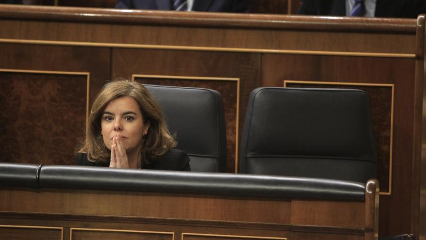 """El PSOE dice que la detención de Castellano """"salta en la cara"""" de la vicepresidenta, que negó sus irregularidades"""
