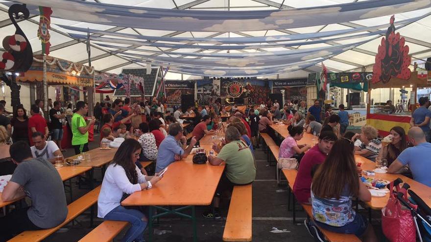 El festival de Laredo busca asemejarse al famoso Oktoberfest de Alemania | FACEBOOK