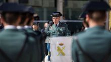 Diego Pérez de los Cobos y otros miembros de la Guardia Civil