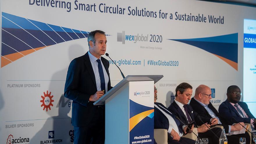 Ponencias de las jornadas sobre sostenibilidad hídrica en Wex Global.