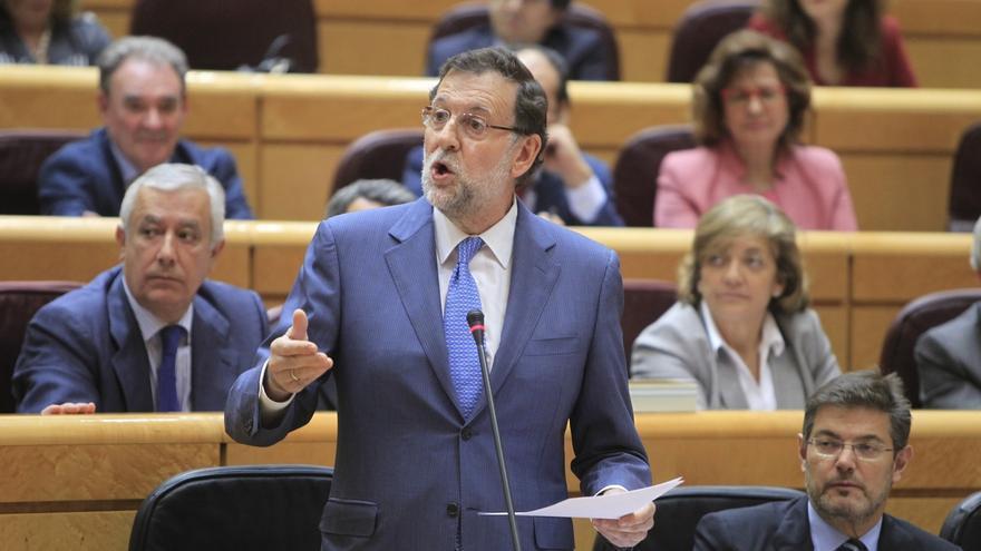 Rajoy volverá al Senado este martes, 48 horas después de las elecciones autonómicas y municipales