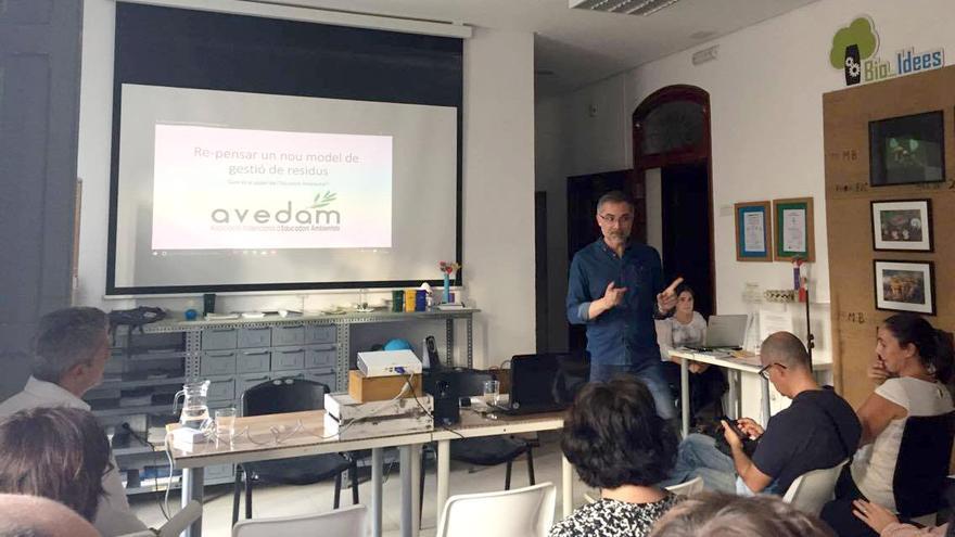 Serafín Huertas, presidente de Avedam, entidad organizadora de la jornada