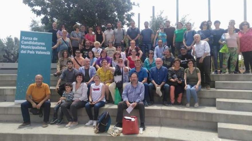 Red de candidaturas municipales de Podemos en la Comunitat Valenciana