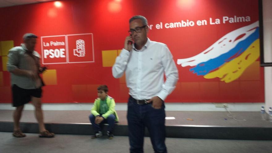 En la imagen, Sergio Matos, el candidato más votado en la capital, este domingo.
