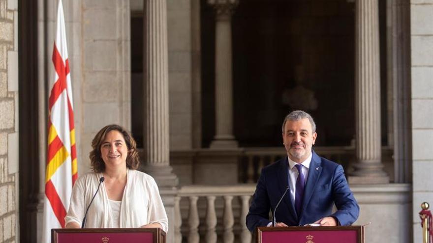 Ada Colau y Jaume Collboni llegan a un acuerdo de gobierno en Barcelona