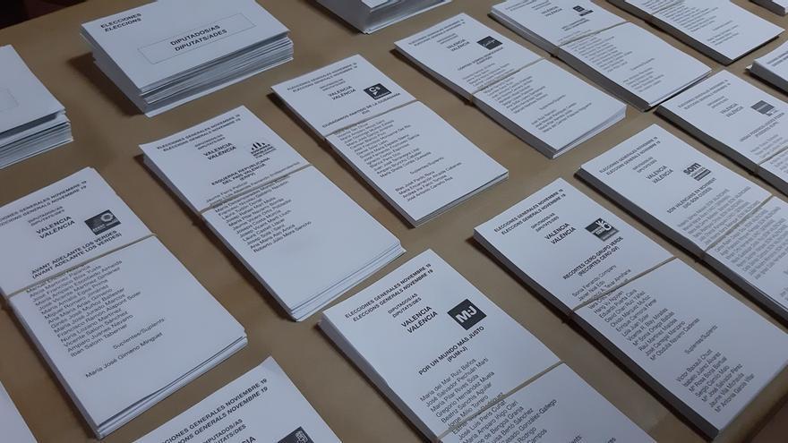 Cuatro de cada diez votos a Ciudadanos y Más País resultaron inútiles al no traducirse en escaños del Congreso