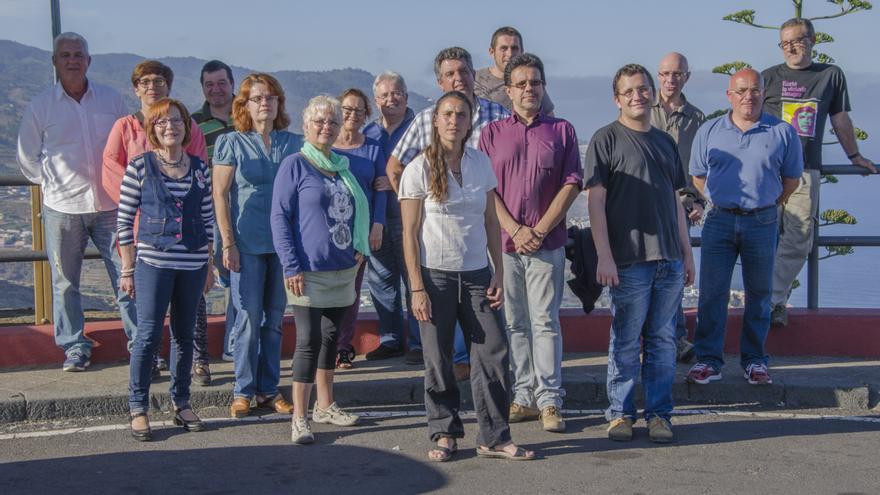 En la imagen, los candidatos de Podemos a las elecciones del 24M.