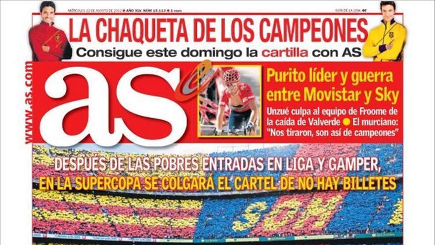 De las portadas del día (22/08/2012) #11