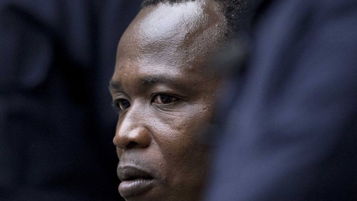 El comandante rebelde ugandés Dominic Ongwen. EFE/Peter Dejong / Archivo
