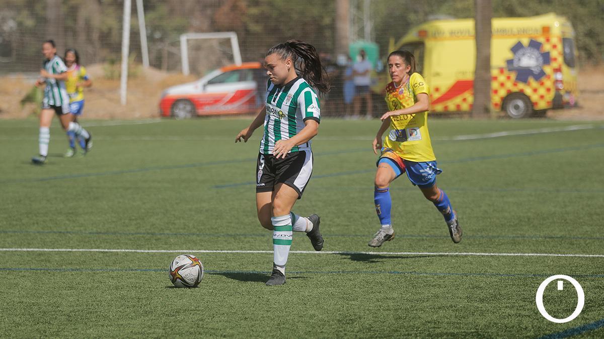 Imagen de un partido del Córdoba Femenino