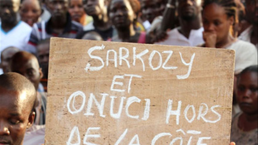 Protestas en Costa de Marfil por la salida de los cascos azules