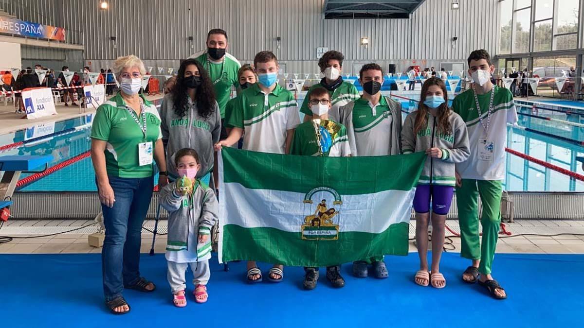 Selección andaluza de natación adaptada