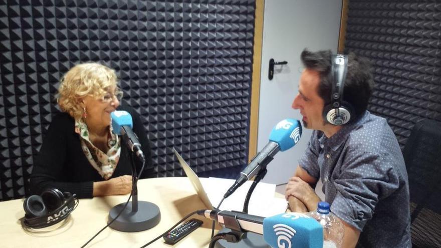 Manuela Carmena en Carne Cruda (15 septiembre 2015)