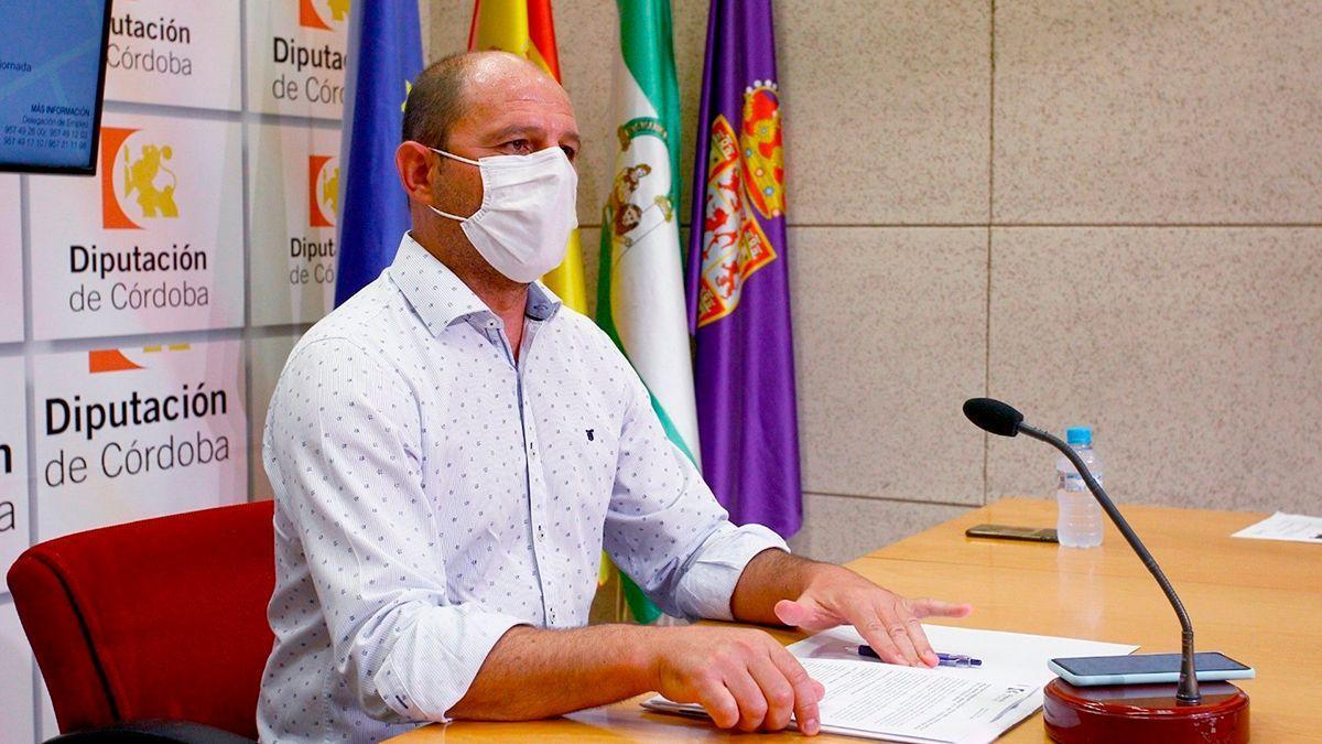 El delegado de Empleo en la Diputación de Córdoba, Miguel Ruz, en una imagen de archivo.