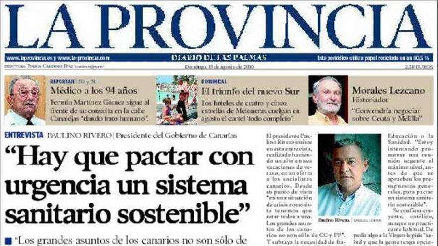 De las portadas del día (15/08/2010) #2