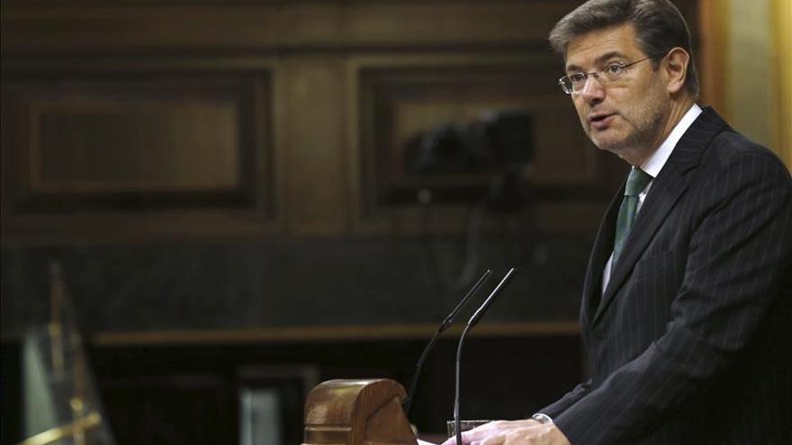 Catalá asegura que no hay ninguna propuesta para sancionar a los medios que publiquen filtraciones