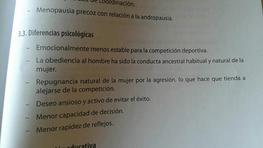 Parte del libro de preparación de oposiciones de la editorial MAD. / @CeliaZafra
