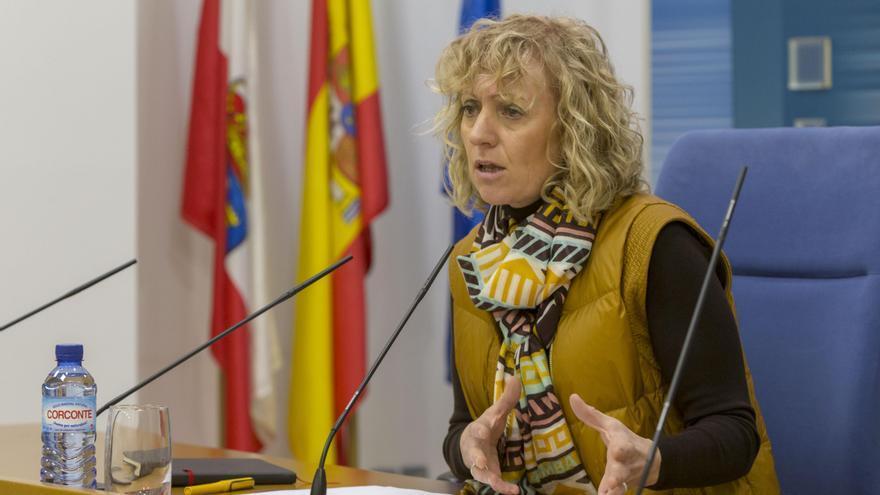 La vicepresidenta de Cantabria, Eva Díaz Tezanos (PSOE). | MIGUEL LÓPEZ