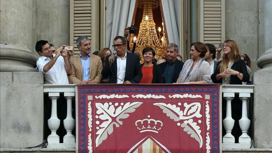 Ni la alcaldesa ni su equipo de gobierno acuden, por primera vez, a la misa de La Mercè
