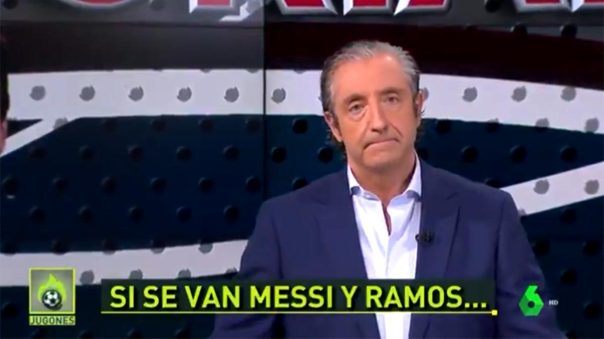 Josep Pedrerol, en su amenaza de noviembre