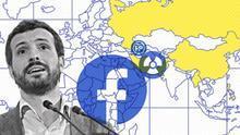 El PP mete a España en el club de Rusia, Irán o China con su red de cuentas falsas para intoxicar Facebook