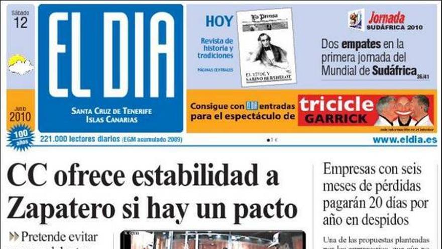 De las portadas del día (12/06/2010) #4